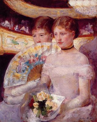 Cassatt Mary Two Women in a Theater Box