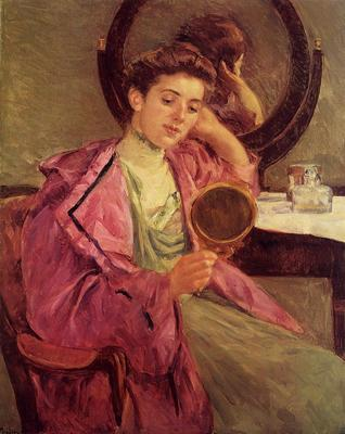 Cassatt Mary Woman at Her Toilette