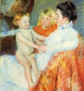 Cassatt Mary Mother Sara and the Baby