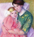 Cassatt Mary Mother and Child Reading