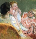 Cassatt Mary Mother and Children