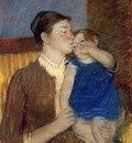 Cassatt Mary Mother s Goodnight Kiss