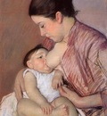 Cassatt Mary Motherhood