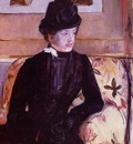 Cassatt Mary Mrs  Gardner Cassatt in Black