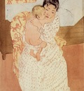 Cassatt Mary Nude Child