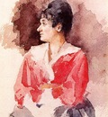 Cassatt Mary Profile of an Italian Woman