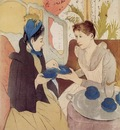 Cassatt Mary The Visit
