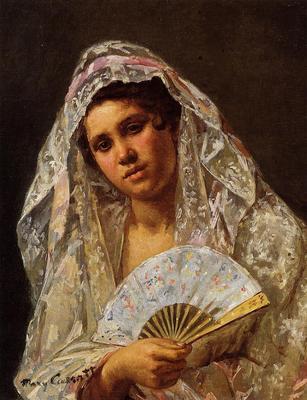Cassatt Mary A Seville Belle