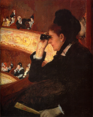 Cassatt Mary At The Opera