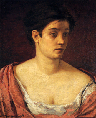 Cassatt Mary Portrait Of A Woman