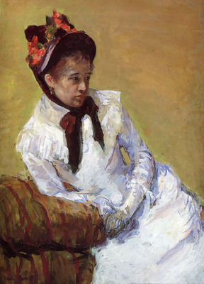 Cassatt Mary Portrait Of The Artist