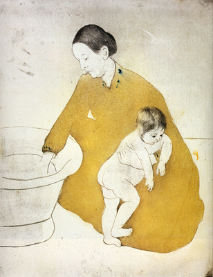 cassatt mary the bath