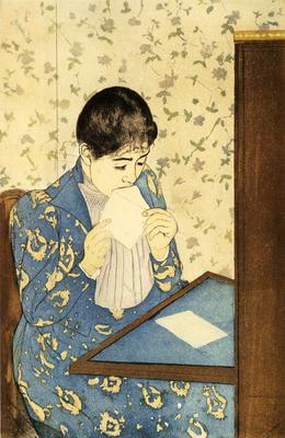 Cassatt Mary The Letter