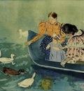 Cassatt Mary Feeding the Ducks