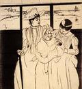 Cassatt Mary In The Omnibus