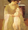 cassatt mary mother and child