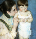 Cassatt Mary Young Thomas And His Mother