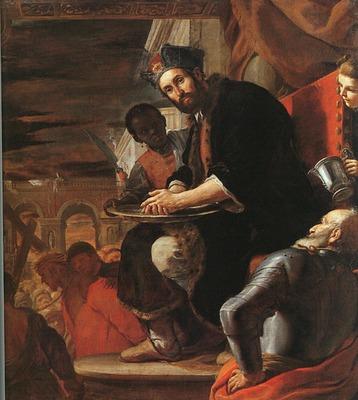 PRETI Mattia Pilate washing His Hands