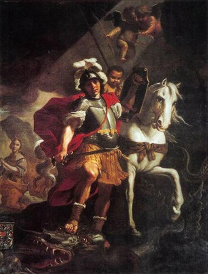 PRETI Mattia St George Victorious Over The Dragon