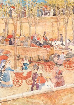 Prendergast Afternoon Pincian Hill