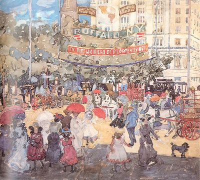 Prendergast Madison Square