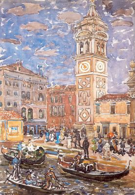 Prendergast Santa Maria Formosa Venice