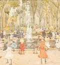 Prendergast In Central Park New York