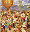 Prendergast Maurice B The Balloon