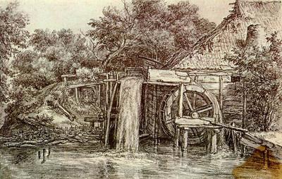 Hobbema Meyndert Watermill