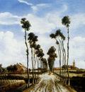 Hobbema Meindert The Road To Middelharnis