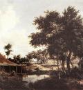 hobbema meyndert the water mill 1663