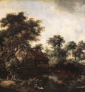 Hobbema Meyndert The Water Mill