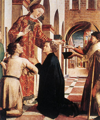 PACHER Michael St Lawrence Distributing The Alms