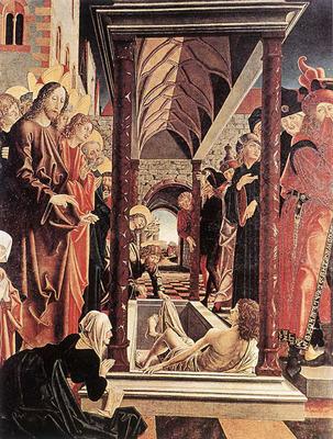 PACHER Michael St Wolfgang Altarpiece Resurrection Of Lazar