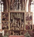 PACHER Michael St Wolfgang Altarpiece