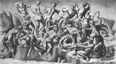Michelangelo Battle of Cascina part