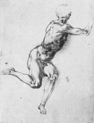 Michelangelo Battle of Cascina study1