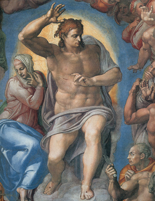 Michelangelo Last Judgement Christ the Judge