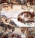 Ceiling of the Sistine Chapel detail1 EUR