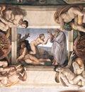 Ceiling of the Sistine Chapel detail2 EUR