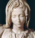 Michelangelo Pieta 1499 detail1