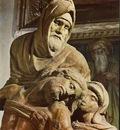 Michelangelo Pieta c1550 detail1