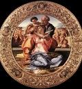 Michelangelo The Doni Tondo framed