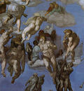 Michelangelo The Last Judgement detail3