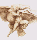 Michelangelo The Rape of Ganymede
