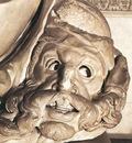 Michelangelo Tomb of Giuliano de Medici detail Night detail1
