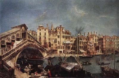 MARIESCHI Michele The Rialto Bridge from the Riva del Vin