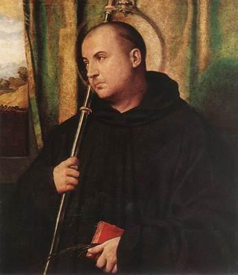 MORETTO da Brescia A Saint Monk