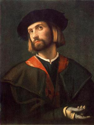 MORETTO da Brescia Portrait Of A Man