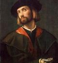 MORETTO da Brescia Portrait Of A Man
